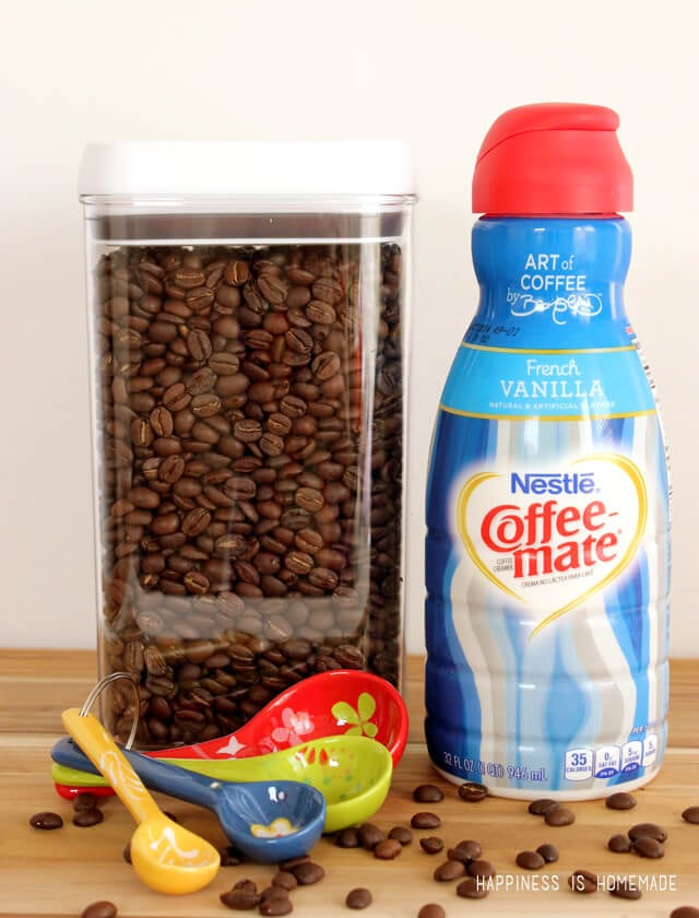 Coffee-Mate French Vanilla in Limited Edition Bottle by David Bromstad