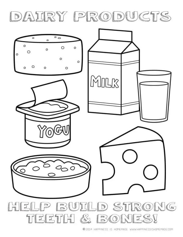 coloring pages food # 37