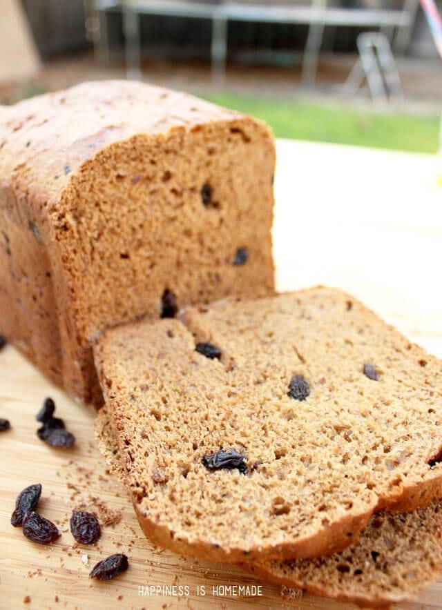 Cinnamon Raisin Bread Recipe with Real California Raisins