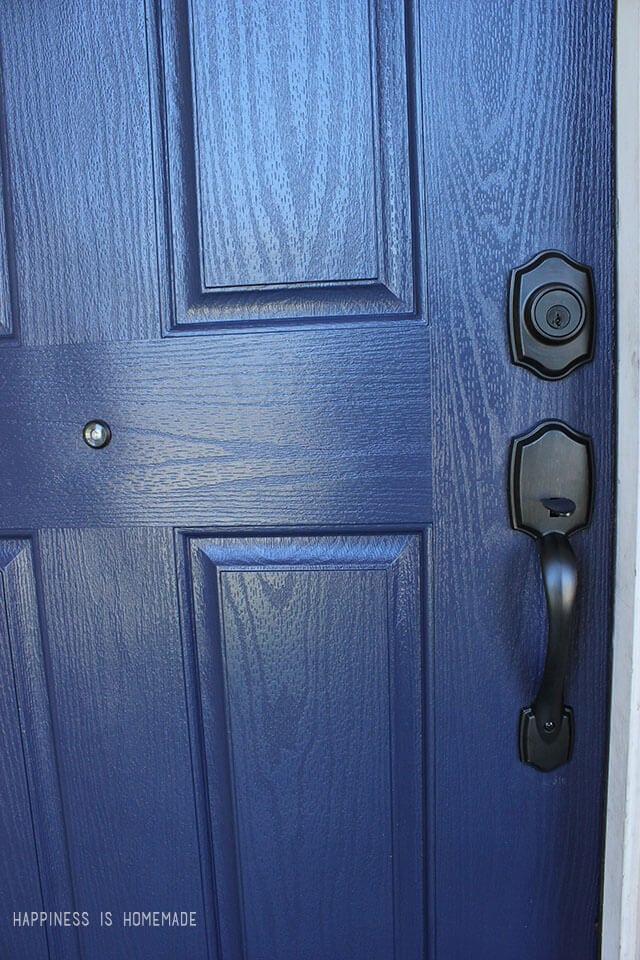 Modern Masters Peaceful Front Door Paint