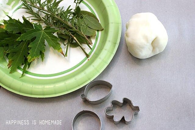 Clay Leaf Imprint Supplies