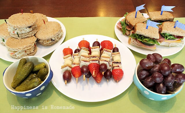 Sandwich Party to Celebrate the End of Junior Sports Season