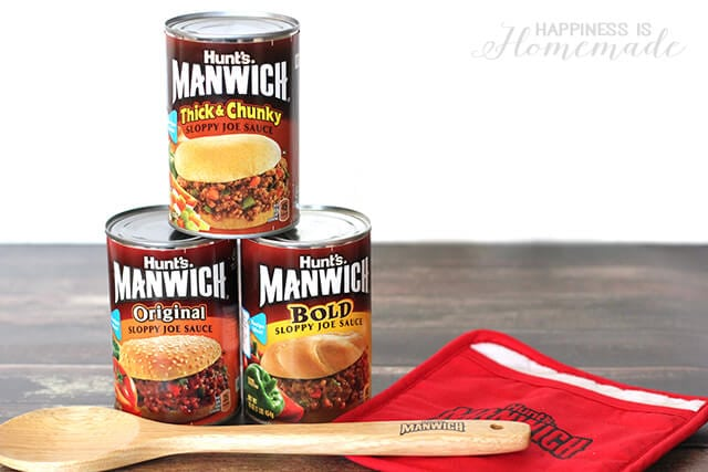 Manwich Original Bold and Chunky Sauces Gift Pack