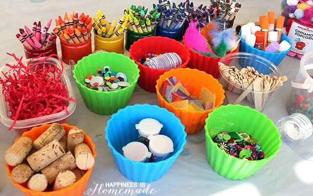 Art Party Supplies