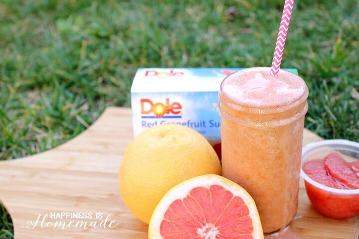 Red Grapefruit Sunrise Smoothie Recipe