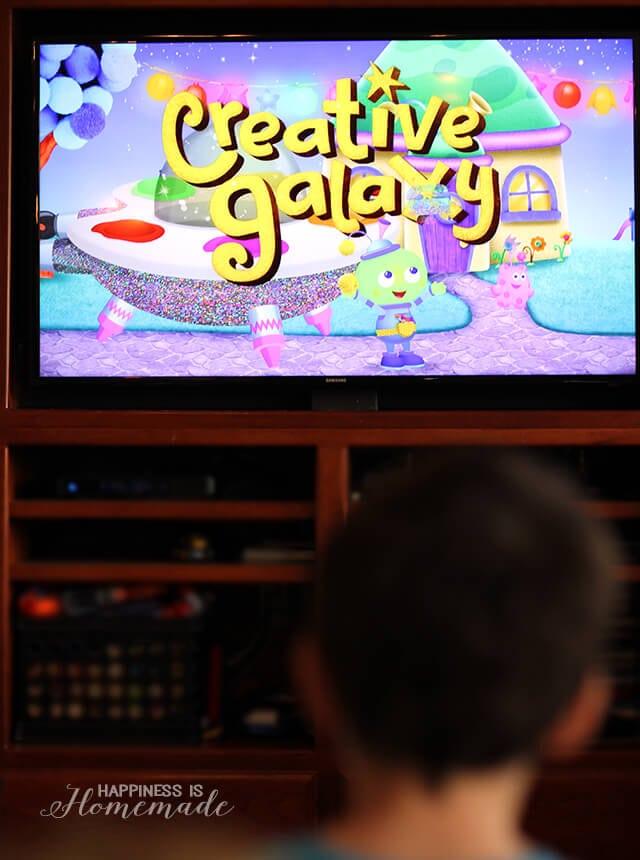 Watching Creative Galaxy on Amazon Prime