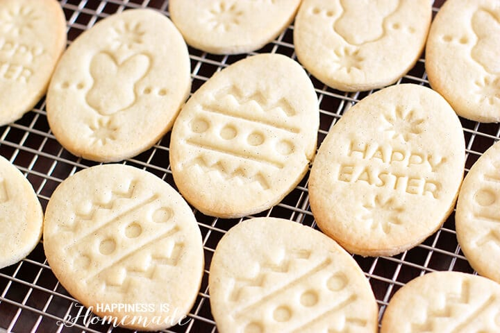 Gluten Free Vanilla Easter Cookies