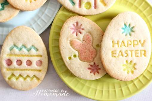 Gluten Free Vanilla Sugar Cookies for Easter