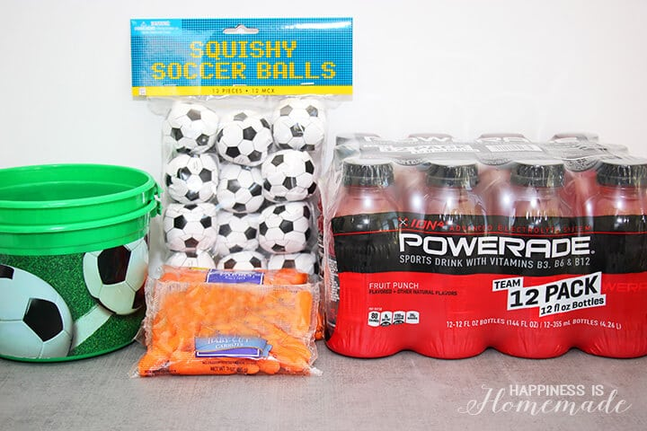 Ultimate Sideline Soccer Snack Kit Supplies 2