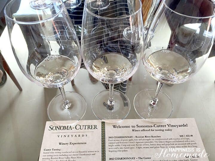 Sonoma-Cutrer Chardonnay Tasting