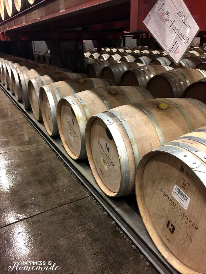 Sonoma-Cutrer Wine Barrels