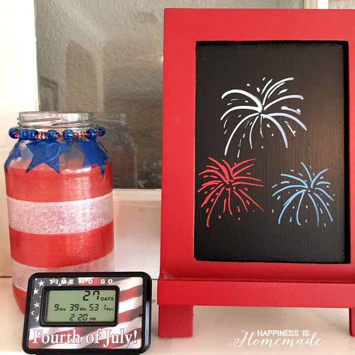 4th of July Countdown Clock