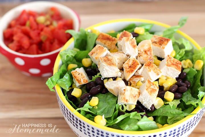 Fiesta Chicken Taco Salad