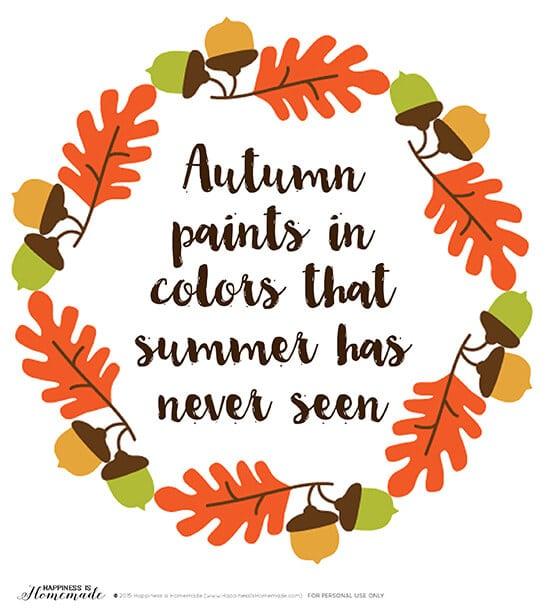 Autumn Paints in Colors - Colorful 2