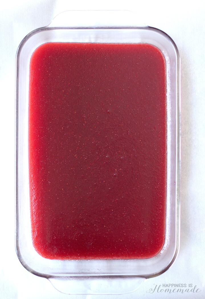 How to Make Homemade Fruit Snack Gummies