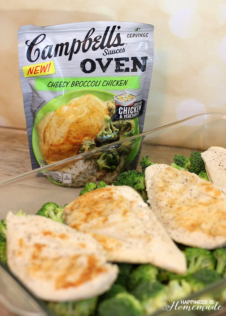 Campbell's Cheesy Chicken and Broccoli