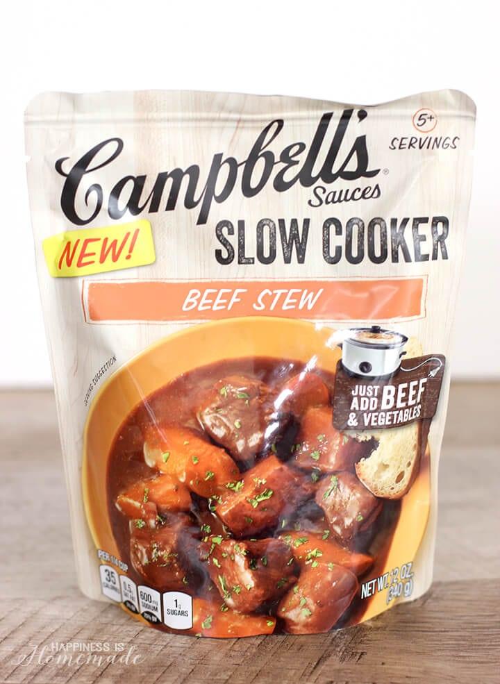 Campbells Slow Cooker Beef Stew Sauce