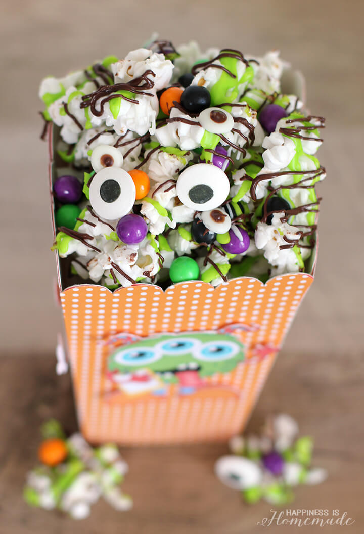 Monster Munch Halloween Snack Mix Happiness Is Homemade