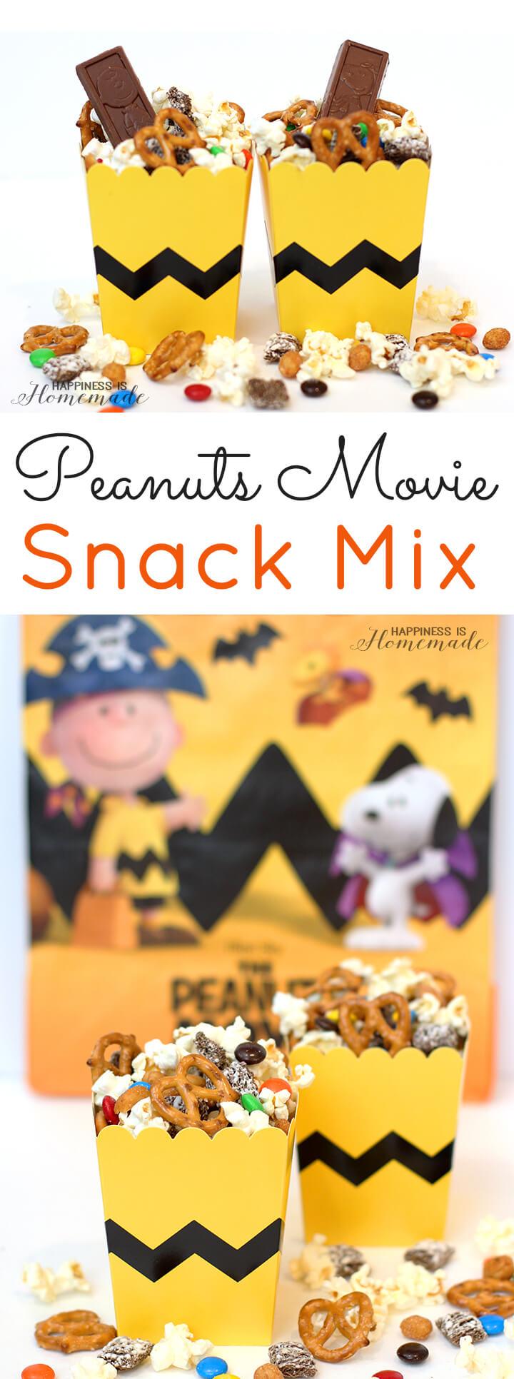 New Peanuts Movie Snack Mix