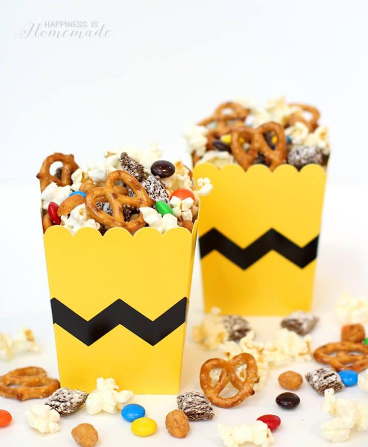 Peanuts Snack Mix