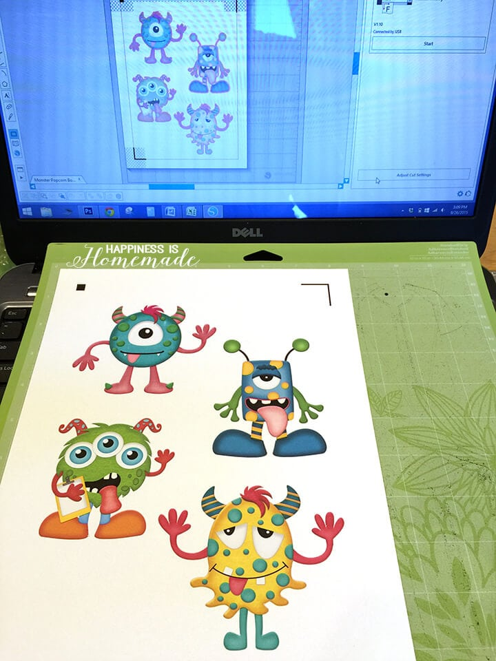 Print and Cut Monsters