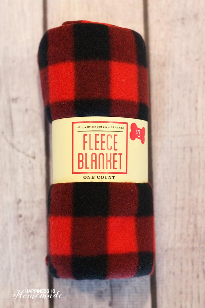 Buffalo Check Plaid Blanket from Target Dollar Spot