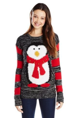 Penguin Jingle Bell Sweater