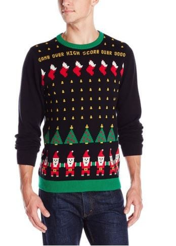 Santa Invaders Christmas Sweater