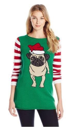 Santa Pug Christmas Sweater