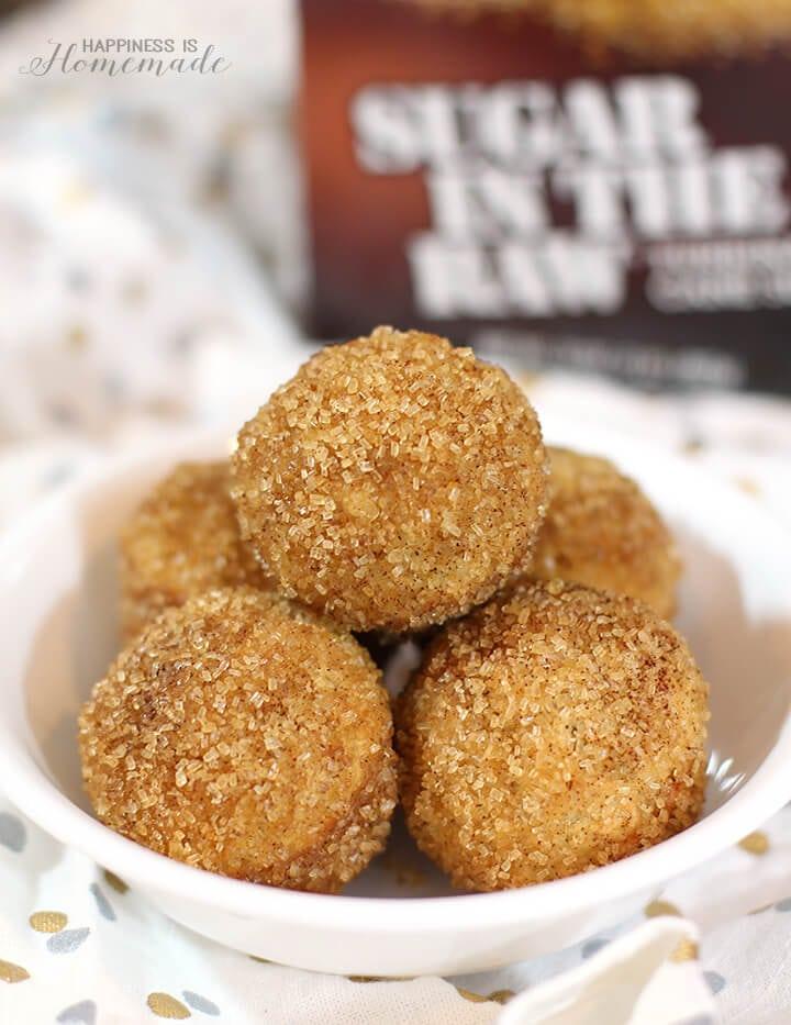 Cinnamon Sugar Donut Puff Recipe