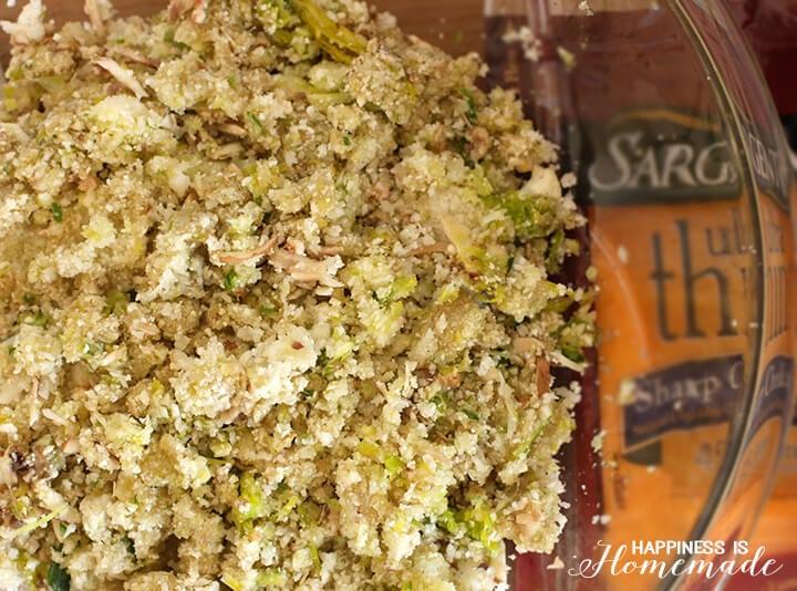 Cauliflower Mushroom and Leek Veggie Patty Mix