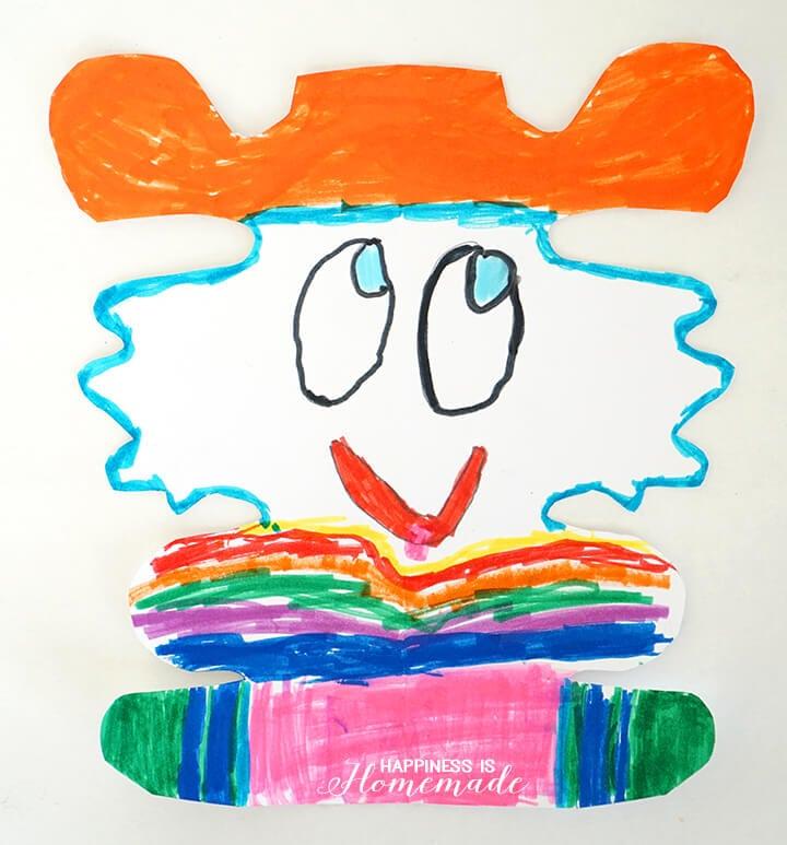 Name Alien Creatures Kids Art Project