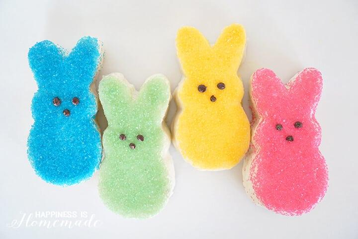 Peeps Bunny Cakes