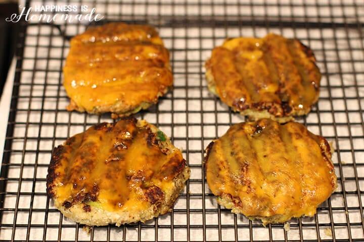 Veggie Slider Patty Melts with Sargento Sharp Cheddar Cheese