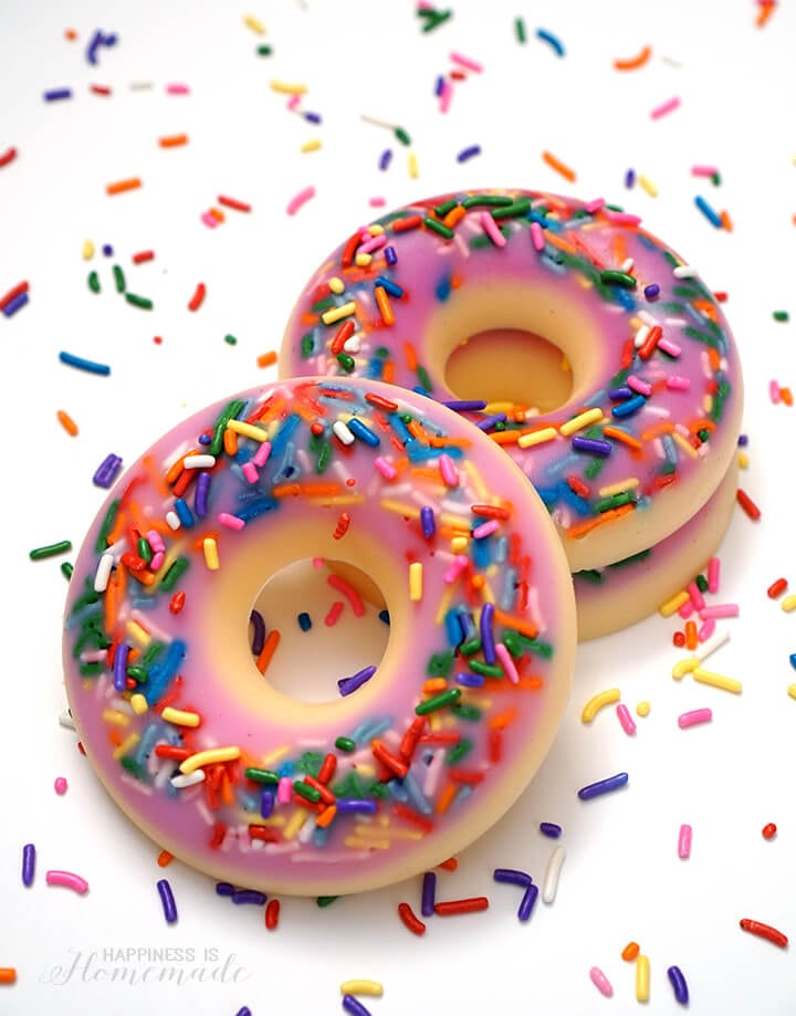 Do It Yourself Donut Soaps Craft