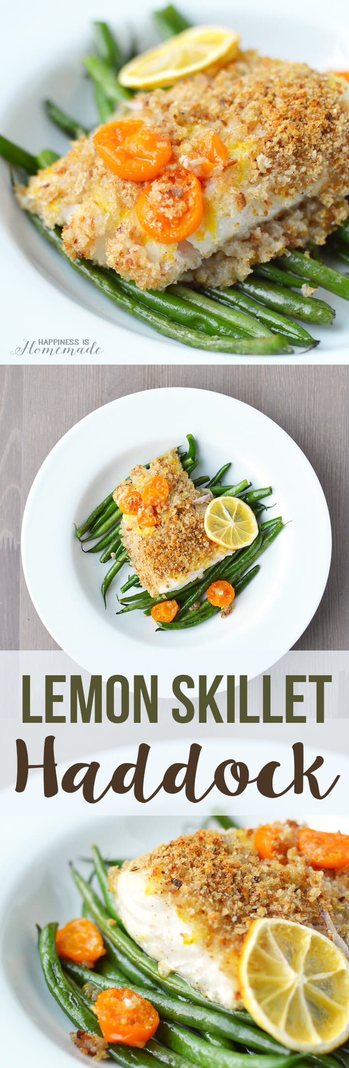 Lemon Skillet Haddock