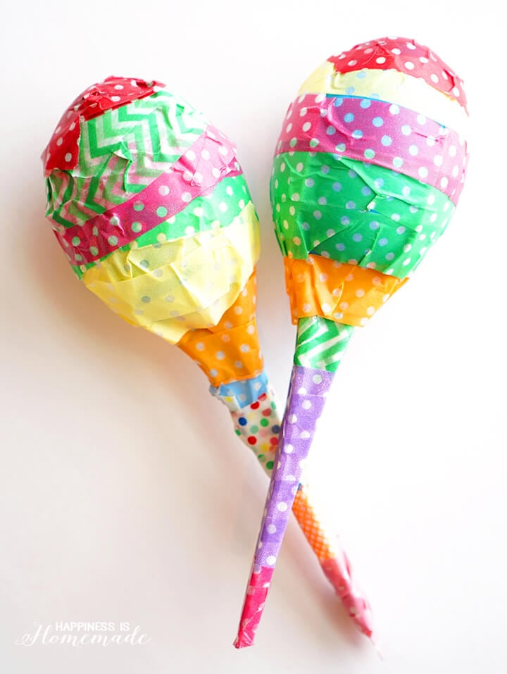 Plastic Egg Maracas Kids Craft Project