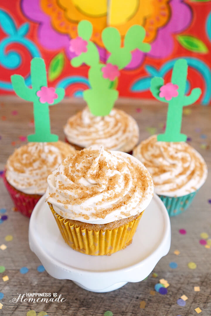 Fiesta-Churro-Cupcakes