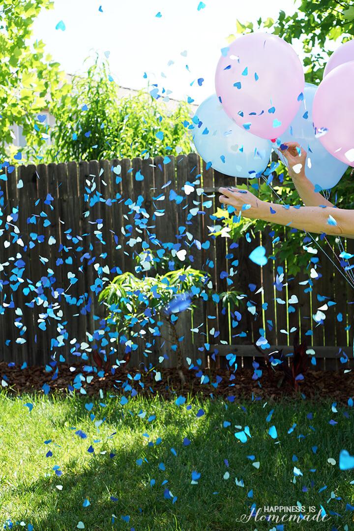 It's a Boy - Gender Reveal Confetti Balloon