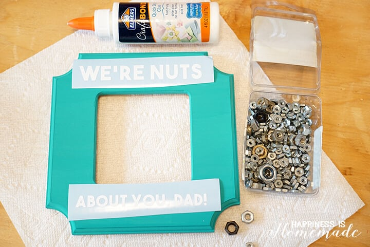 Quick and Easy Father's Day Photo Frame Gift Idea