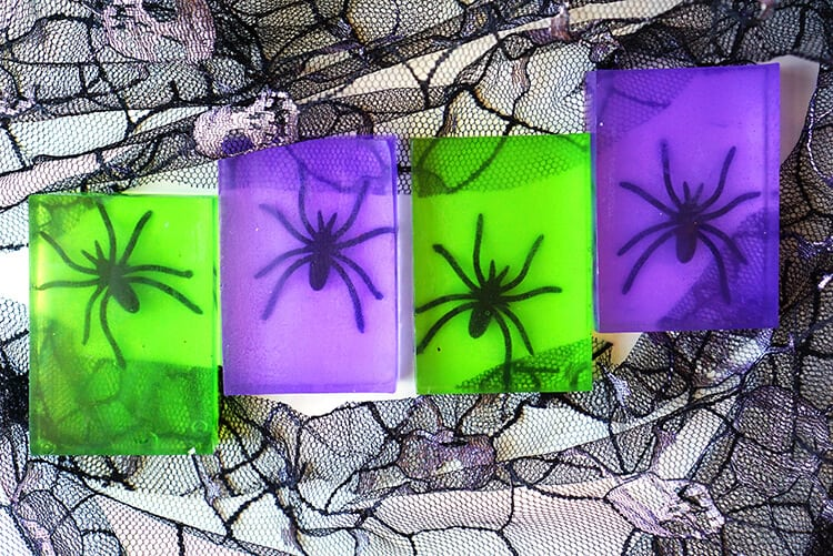 Halloween Craft - Spooky Spider Soap