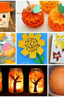 Easy Summer Kids Crafts That Anyone Can Make! - Happiness is