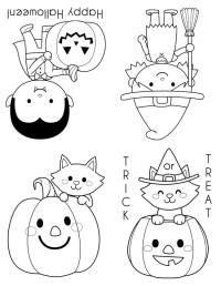 halloween template to print