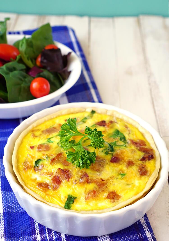 quiche-easy-breakfast-for-dinner-idea