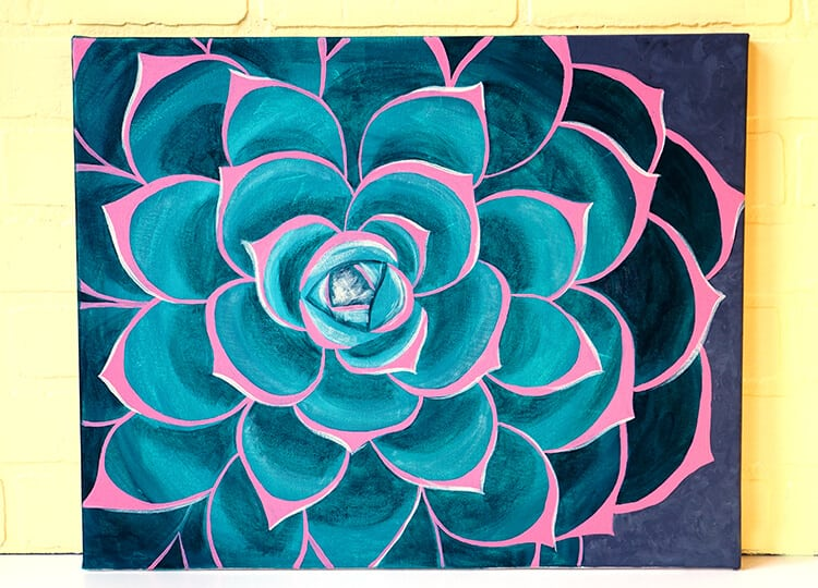 succulent-painting-from-social-artworking-wine-and-paint-party