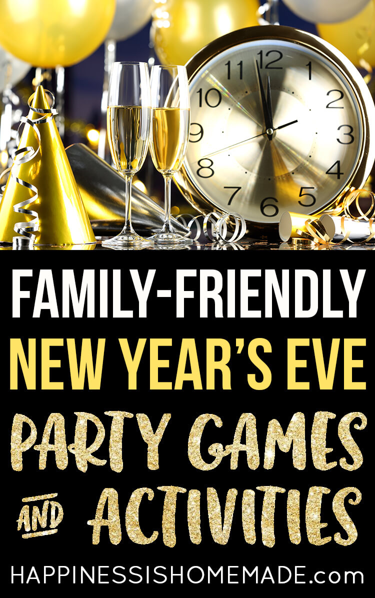 Family-Friendly New Year's Eve Party Games and Activities