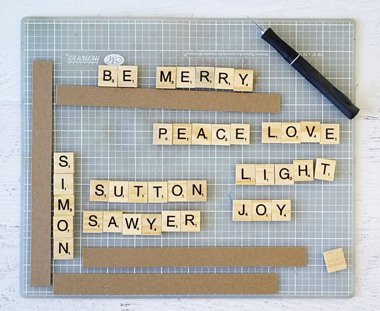 making-scrabble-tile-ornaments