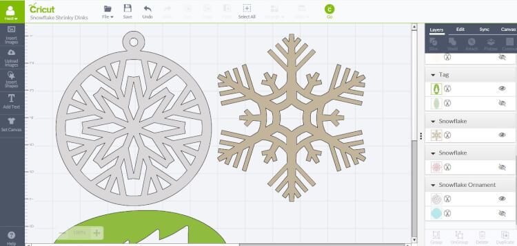design-space-snowflakes