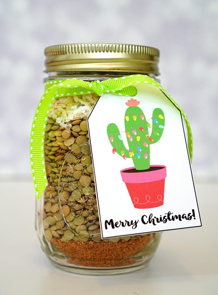 lentil-taco-tostada-gift-jar-with-tags