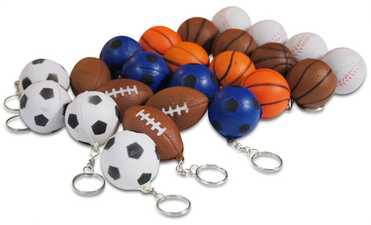 Sports Ball Keychains
